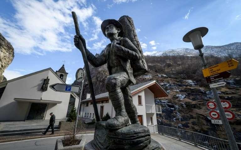 Cryptocurrency boom breathes life into Alpine village