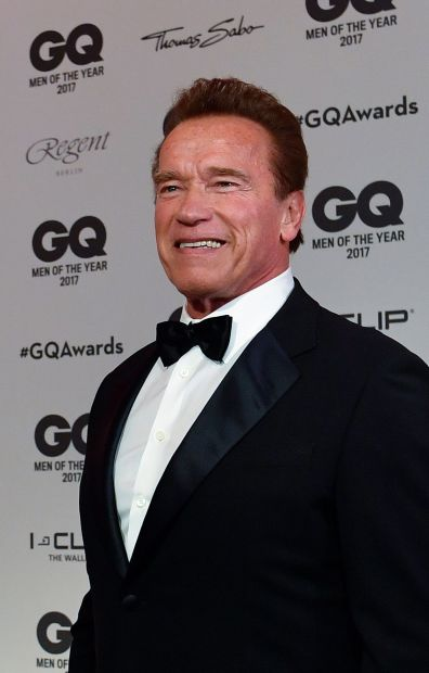 Hollywood tough guy Arnie resting after heart surgery