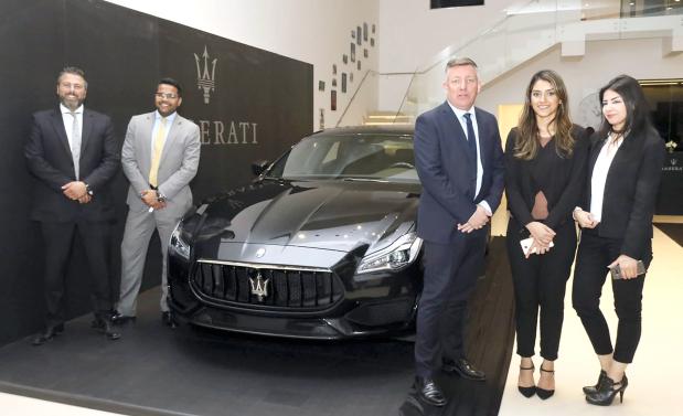 PHOTOS & VIDEO: Showcasing the Maserati Quattroporte