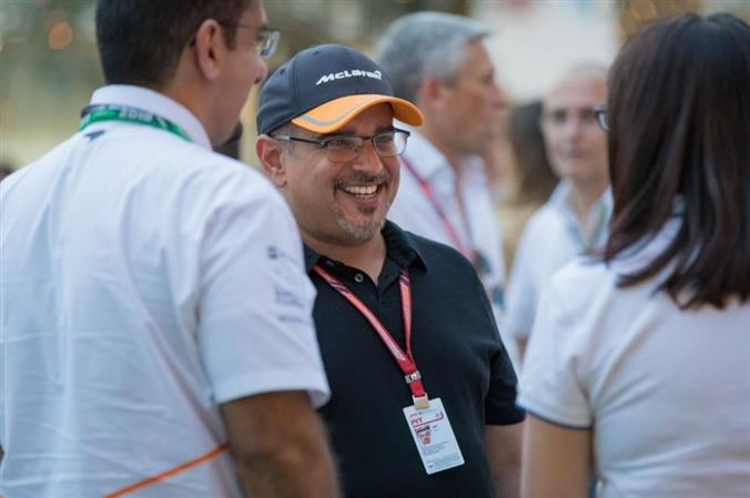 Photo Gallery: Crown Prince meets F1 teams and fans at BIC