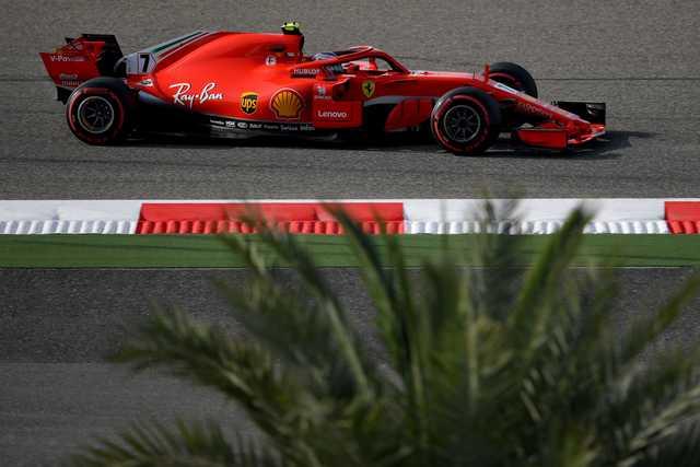 Ferrari's Raikkonen tops the timesheets in final Bahrain GP practice