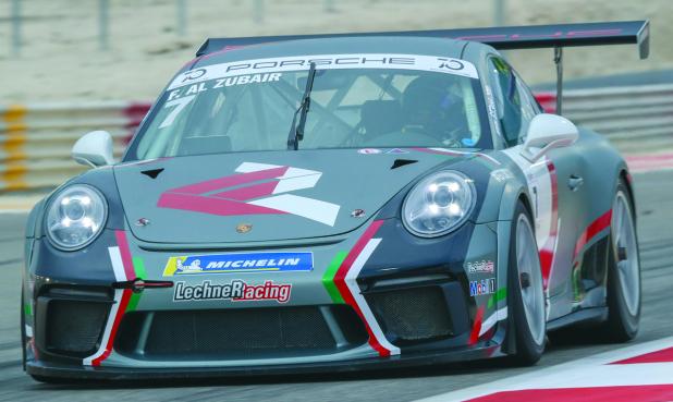 Al Zubair shines in GT3 qualifying