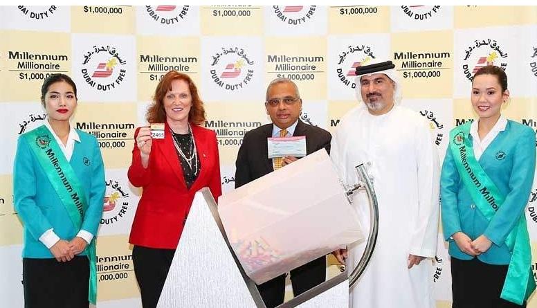 Indian mechanic wins $ 1 million jackpot in Dubai