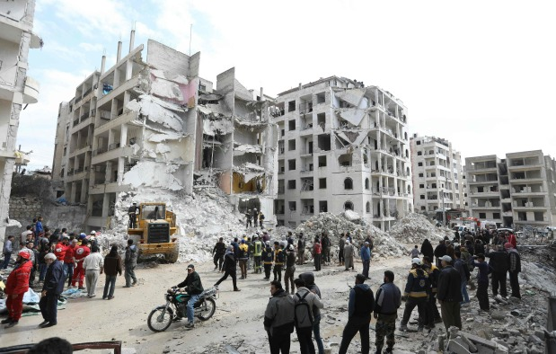 Chemical watchdog says to deploy to Syria as threats escalate
