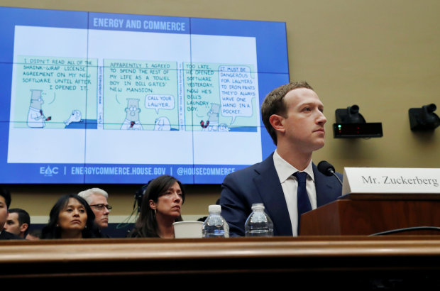 Facebook CEO says his own data was shared by Cambridge Analytica