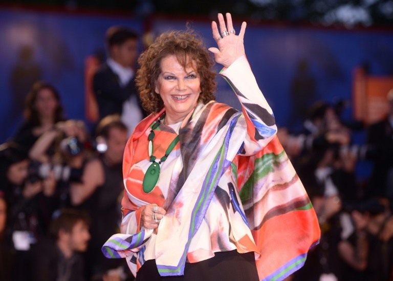 Italian screen siren Claudia Cardinale turns eighty in style