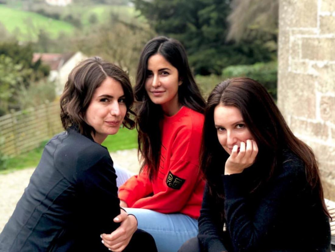 Bollywood: Photos: Katrina Kaif vacations with siblings in the UK