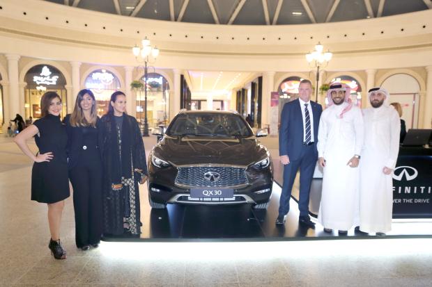Infiniti QX30 unveiled in Bahrain