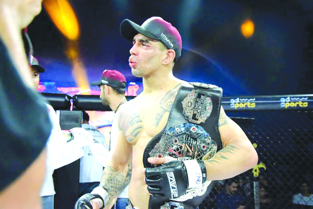 Martins clinches Brave 11 crown