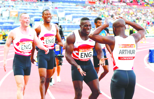 Commonwealth Games: England sprinters outshine Jamaica