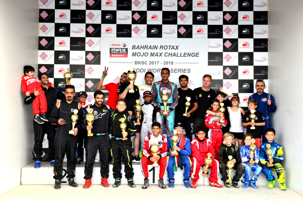 Rashdan and Buhindi claim karting crowns