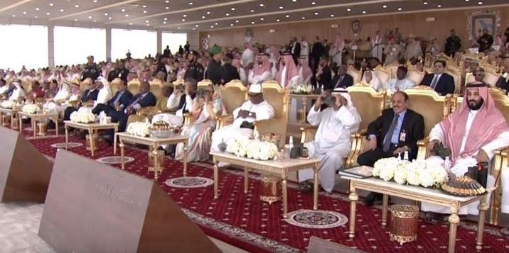 Bahrain News: Photos: King attends Gulf Shield 1 Joint military drill