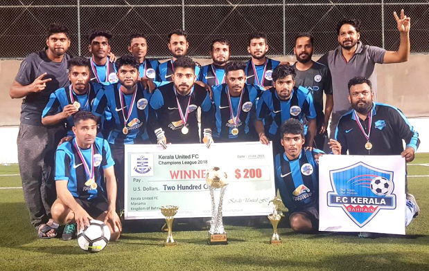 Kerala lift Champions League Trophy