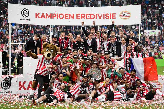 PSV sweep aside Ajax on way to 24th Dutch title