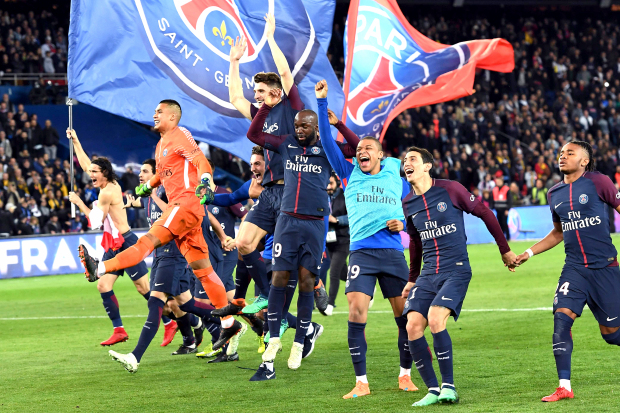PSG crush Monaco to win French title