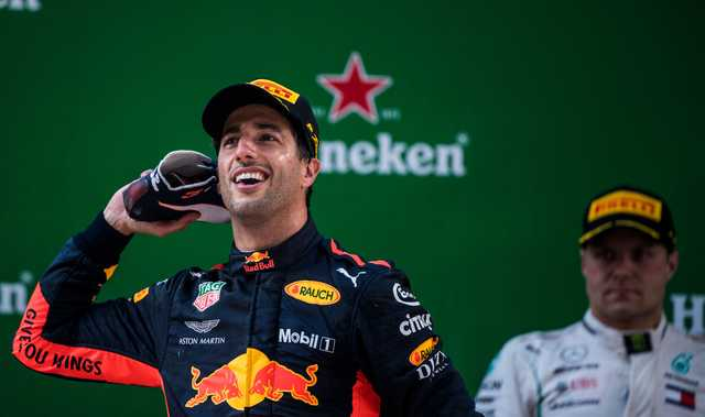 Chinese Grand Prix: Horner sees no reason for Ricciardo to leave
