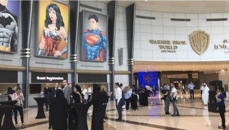 Photos: Warner Brothers Park Abu Dhabi set for July 25 opening