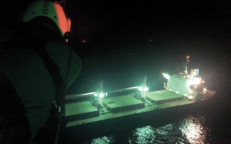 Injured Filipino sailor rescued from UAE territorial waters