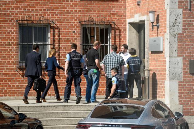 German police raid Porsche executives in diesel probe