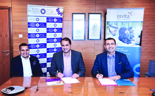Invita inks cloud deal with Royal Bahrain Hospital