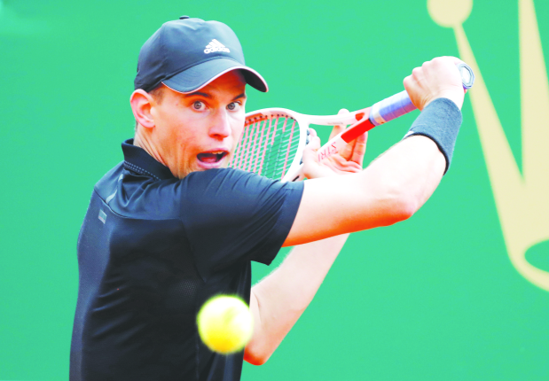 Monte Carlo Masters: Thiem rallies to edge out Rublev