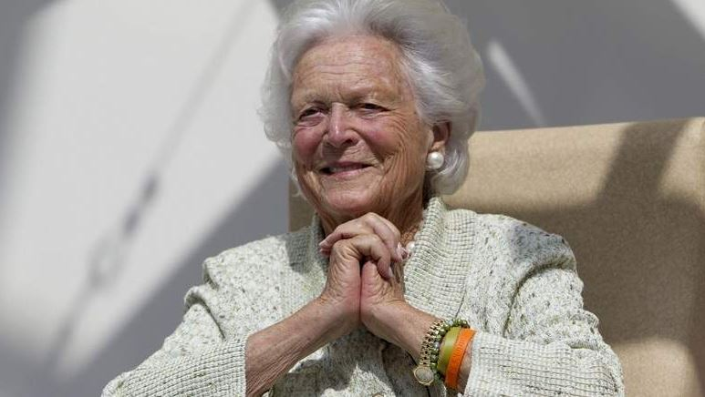 Barbara Bush, wife and mother of US Presidents, dies at 92