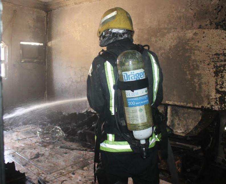 Fire guts labour camp killing six labourers