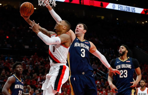 NBA roundup: Pelicans head home with 2-0 lead in playoffs