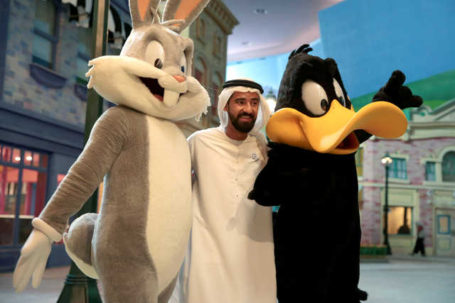 PHOTOS: Warner Bros' $1 billion theme park in Abu Dhabi to open in July