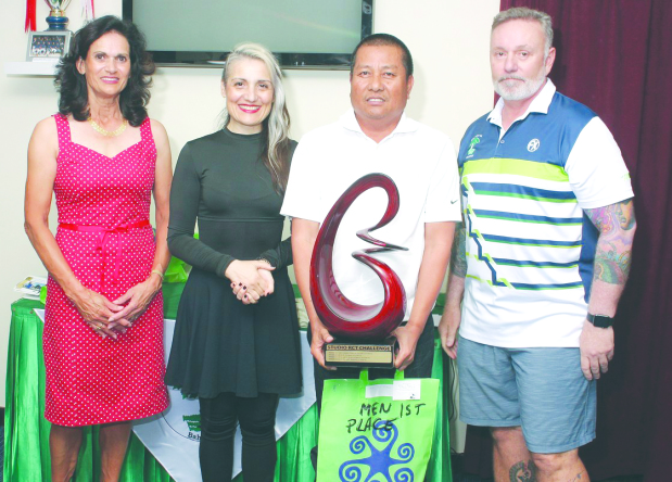 Mario Carangan Jr won Studio-RCT Golf Challenge