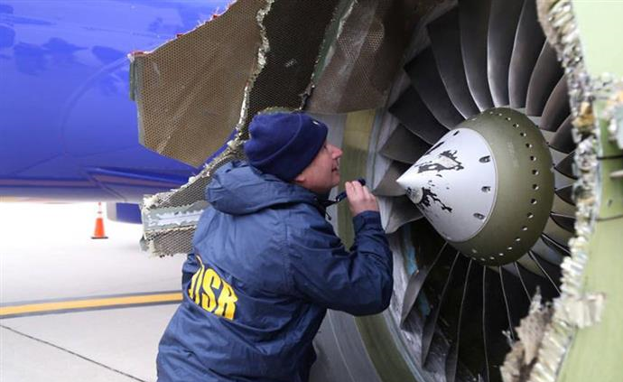 U.S. FAA orders engine inspections after Southwest explosion