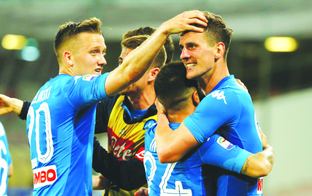 Serie A: Napoli rally twice to beat Udinese and cut Juve's lead