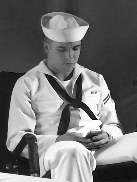 Hometown burial for US sailor killed in accident