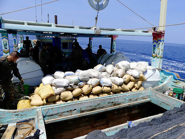 1,940kg hashish confiscated