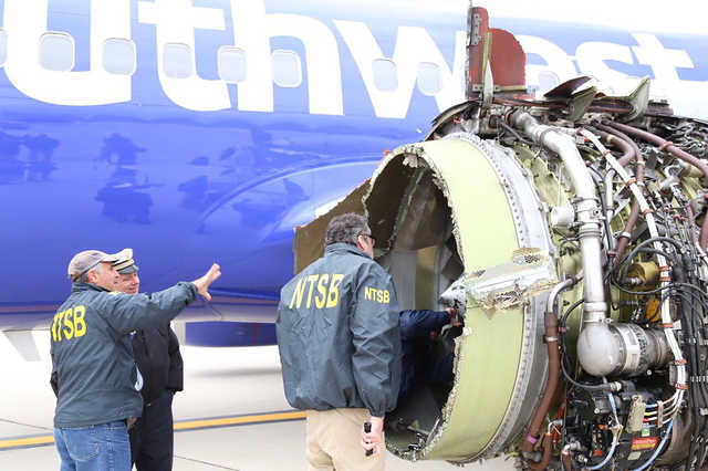 Southwest challenged engine maker over speed of safety checks