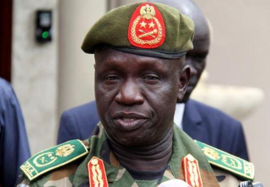Wartorn South Sudan's army chief dies