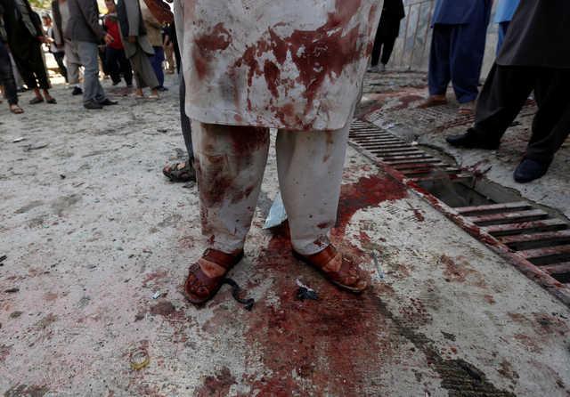 Suicide attack on Kabul voter registration centre kills 48