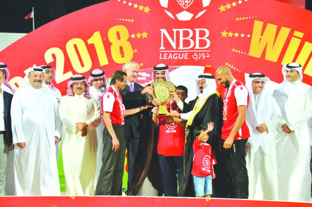 Muharraq clinch 34th league title