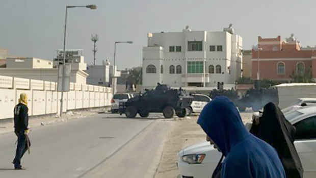 Officer tells of Duraz ordeal, masked men 'rained firebombs and rocks on police'