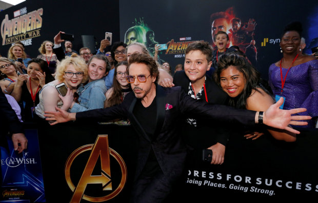 Avengers: Infinity War - Photos from star-studded premiere and first reactions