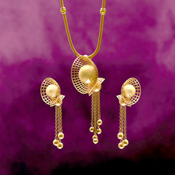 Intricate designs from Devji add a royal touch