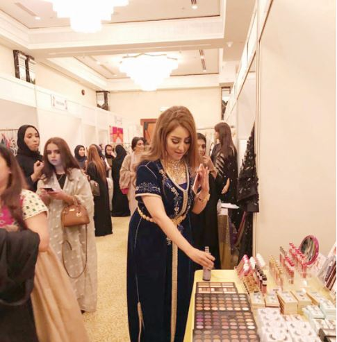 Fashion products on display at Moda Expo