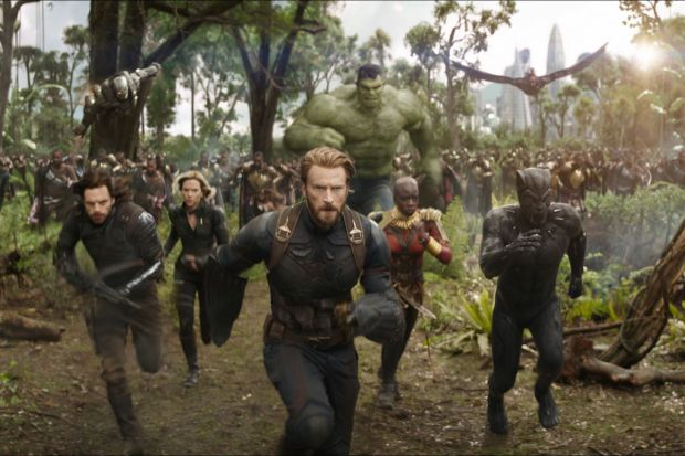 FILM REVIEW:  Avengers: Infinity War