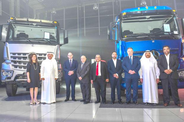 Haddad unveils Daimler trucks