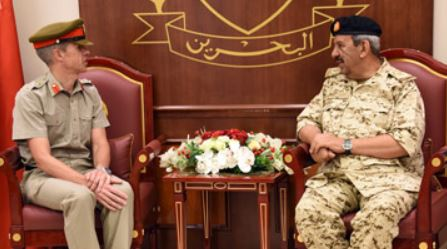 Photo Gallery: Commander-in-chief receives British Military Attaché