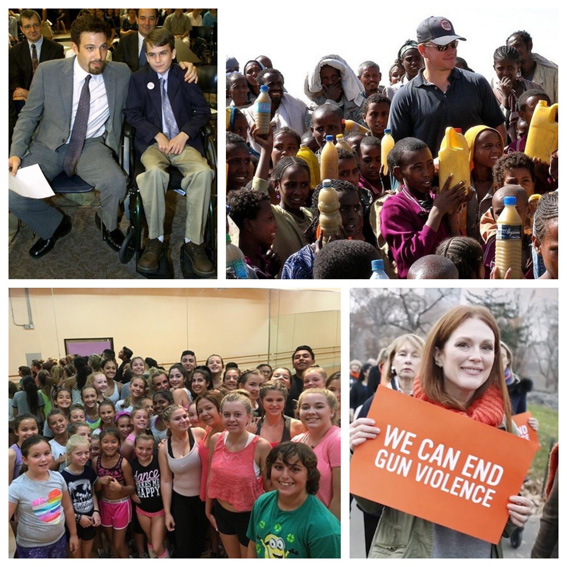 Celebs: Celebrities who have done their bit to make the world a better place