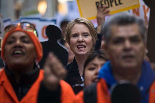 Cynthia Nixon narrows gap, but languishes in NY polls