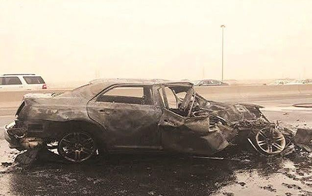 Two Kuwaiti officers  killed in horrific  accident in Kuwait