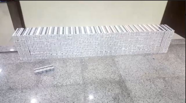 Attempt to smuggle cigarettes from Kuwait foiled