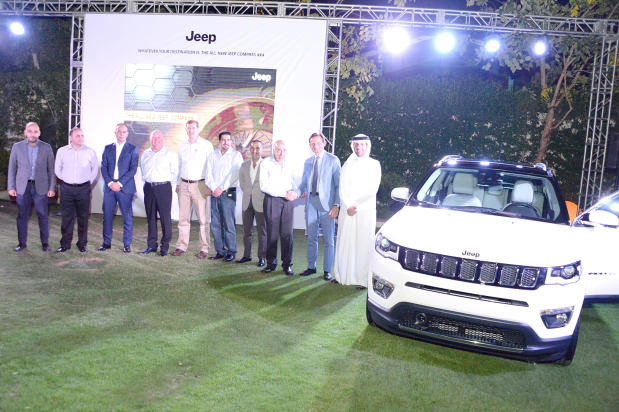 Grand launch for Jeep Compass by Behbehani Brothers